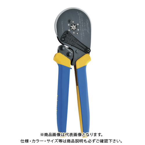 クラウケ 圧着工具 フェルール用 0.08~16sq K306K
