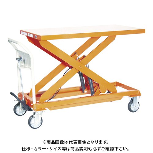 【直送品】TRUSCO ハンドリフター 500kg 600X1200 早送り付 HLFA-E500L