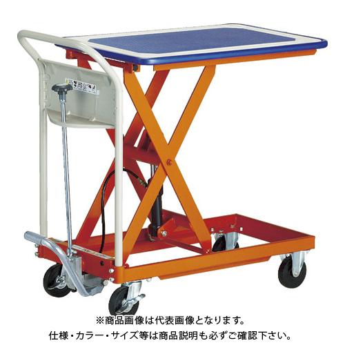 【運賃見積り】 【直送品】 TRUSCO ハンドリフター 150kg 460X740 マット付 HLFMA-S150