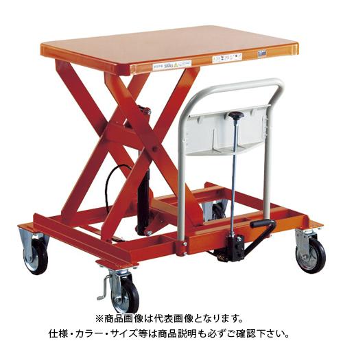 【運賃見積り】 【直送品】 TRUSCO ハンドリフター サイドハンドル型 1000kg 600X1200 HLFA-E1000LLS