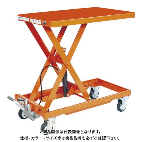 【運賃見積り】 【直送品】 TRUSCO 作業台リフター 250kg 500X800 ハンドルレス HLLA-S250