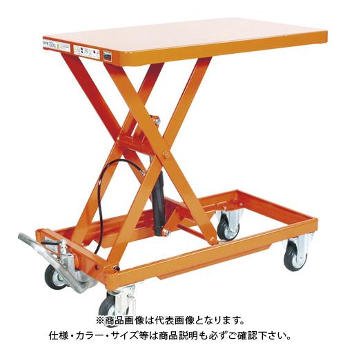 【直送品】TRUSCO 作業台リフター 500kg 600X900 Hレス 早送り無し HLLA-S500