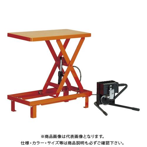 【直送品】TRUSCO ワークテーブルリフト250kg 足踏式 500X800 HLFWA-S250