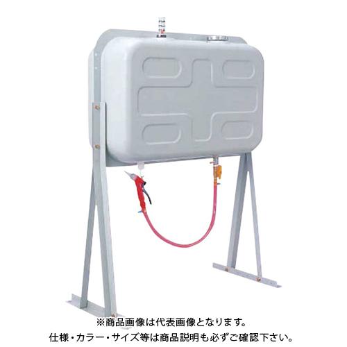 【運賃見積り】【直送品】ダイケン 屋外用ホームタンク 95型 スチール製 壁寄せスライドタイプ 小出しガン・ホース付き HT95NVG