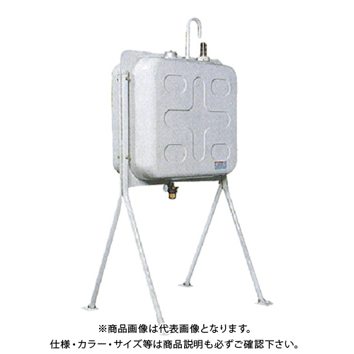【運賃見積り】【直送品】ダイケン 屋外用灯油タンク ホームタンク両面タイプ標準脚195型 HT-W195S