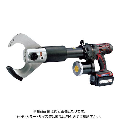 【直送品】ダイア ケーブルカッター 充電式(18V) HPC-85BRLA