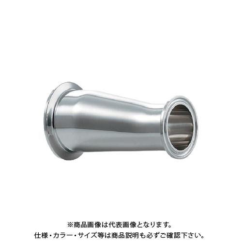 カクダイ ヘルール偏芯レデューサー 2S×1.5S 691-09-DXC