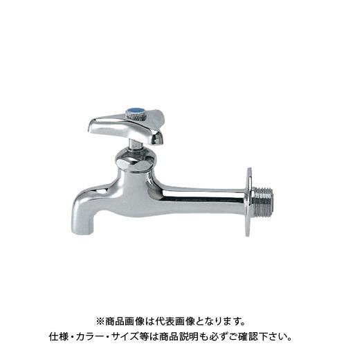 カクダイ 胴長横水栓 7020-25