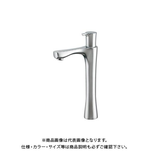 カクダイ 立水栓 トール、マットシルバー 716-864-13