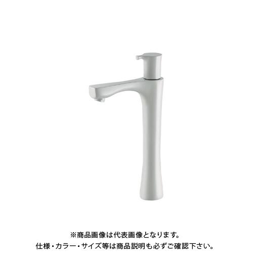 カクダイ 立水栓 トール、コットンホワイト 716-867-13