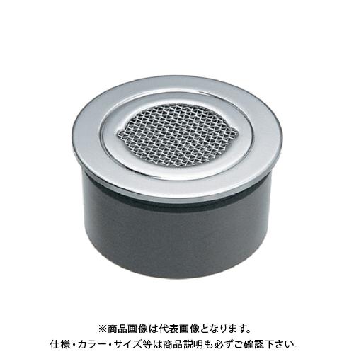 カクダイ VP・VU兼用防虫目皿(接着式) 400-233-125