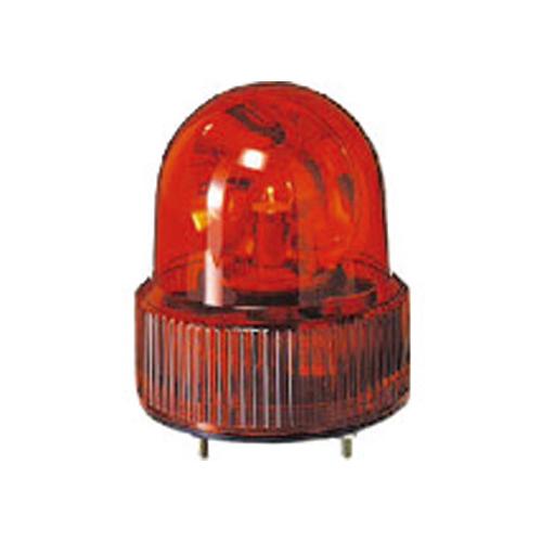 パトライト SKH-A型 小型回転灯 Φ118 オールプラスチックタイプ 色:黄 SKH-120A-Y