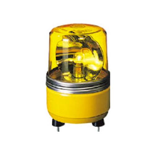パトライト SKH-EA型 小型回転灯 Φ100 色:黄 SKH-12EA-Y