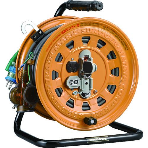 ハタヤ 逆配電型コードリール マルチテモートリール単相100Vアース付27+6m TGM-130K