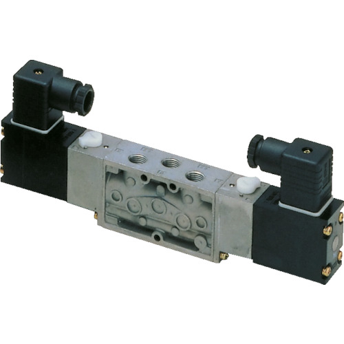 CKD 4Fシリーズパイロット式5ポート弁セレックスバルブ 3.9C[dm[[の3乗]]/(S・bar)]/音速コンダクタンス 4F320-10-AC200V