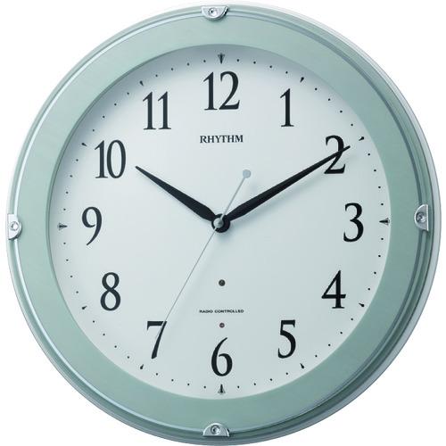 RHYTHM リズム 電波掛時計(夜間自動点灯ライト付) 8MYA23SR04