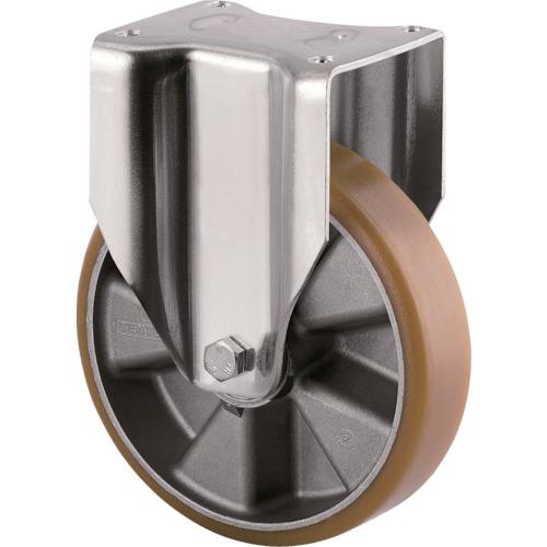 テンテキャスター 重荷重用高性能旋回キャスター(ウレタン車輪) φ160 固定式 3648ITP160P63 CONVEX