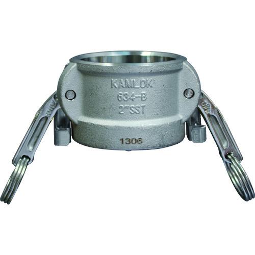 トヨックス カムロック ツインロックタイプカプラー ダストキャップ ステンレス 634-BL 1-1/2 SST