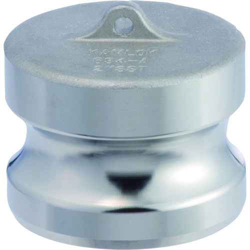 トヨックス カムロックアダプター ダストプラグ ステンレス 1-1/2インチ SST 634-A 1-1/2 SST