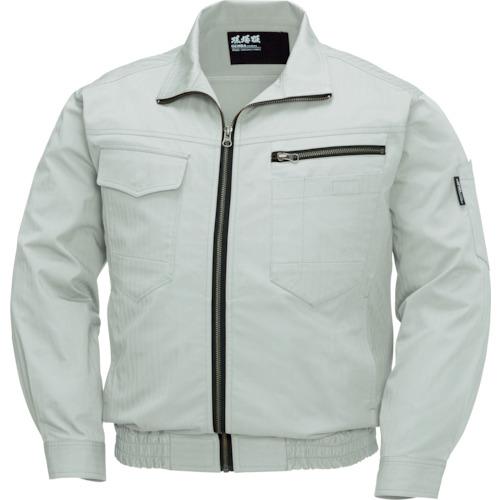 ジーベック 空調服 綿薄手現場服ヘリンボン空調服XE98002-39-5L XE98002-39-5L