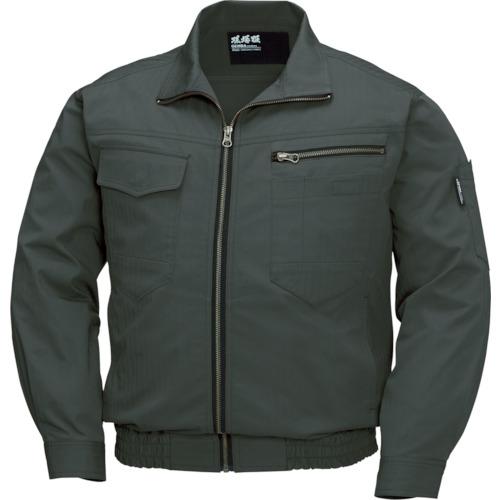 ジーベック 空調服 綿薄手現場服ヘリンボン空調服XE98002-62-5L XE98002-62-5L