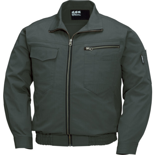 ジーベック 空調服 綿薄手現場服ヘリンボン空調服XE98002-62-LL XE98002-62-LL