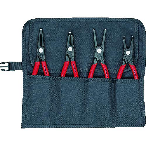 KNIPEX 4本組 精密スナップリングプライヤー 001957V01