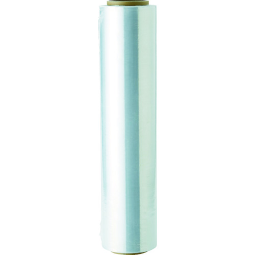 TRUSCO ストレッチフイルム 薄手エコノミータイプ 厚み8ミクロンX500MMX600M 6巻 SFIE8-500
