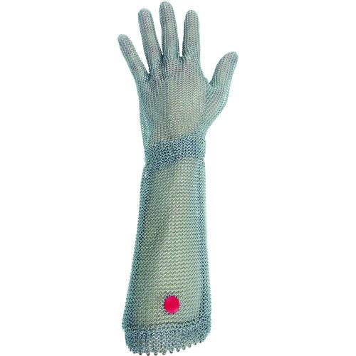 ミドリ安全 ステンレス製 耐切創クサリ手袋 5本指 ロングタイプ WILCO-550 Mサイズ 1枚 WILCO-550-M
