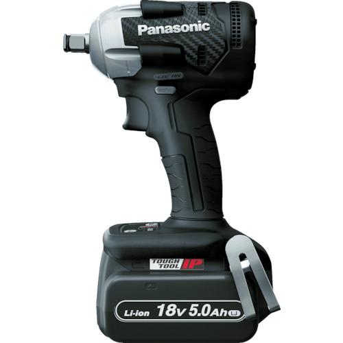 Panasonic デュアル 充電インパクトレンチ 18V5.0Ahセット 黒 EZ75A8LJ2G-B