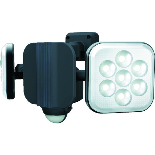 ダンケ 8W×2灯 フリーアームLEDセンサーライト E40216