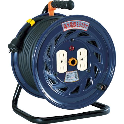 日動 電工ドラム 標準型100Vドラム 極太3.5[[MM2]]ケーブル2芯 30m NF-304F
