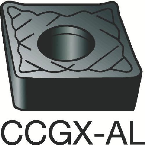 サンドビック コロターン107 旋削用ポジ・チップ H10 10個 CCGX 09 T3 08-AL:H10