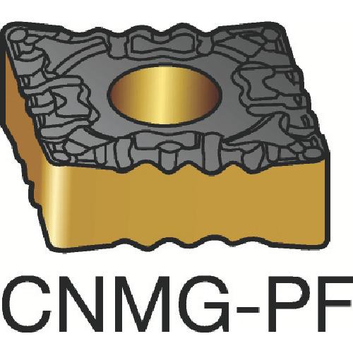 サンドビック T-Max P 旋削用ネガ・チップ 1525 10個 CNMG 12 04 04-PF:1525