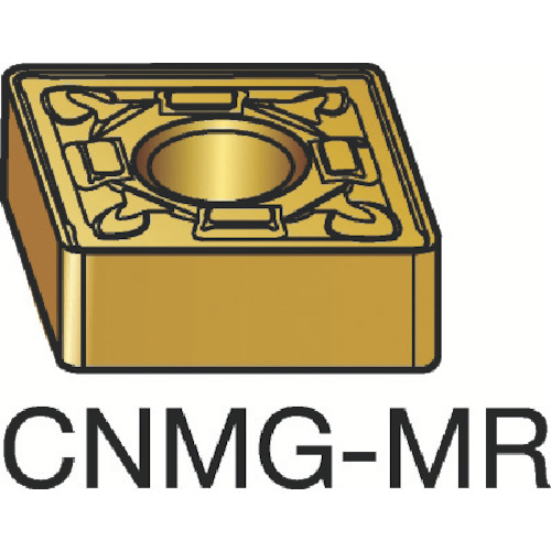 サンドビック T-Max P 旋削用ネガ・チップ 2015 10個 CNMG 12 04 08-MR:2015