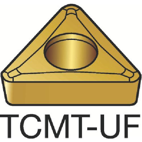 サンドビック コロターン107 旋削用ポジ・チップ 5015 10個 TCMT 11 02 04-UF:5015