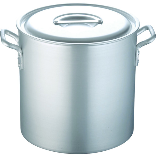 TKG 寸胴鍋 アルミニウム(アルマイト加工) (蓋付)TKG 51cm AZV6351