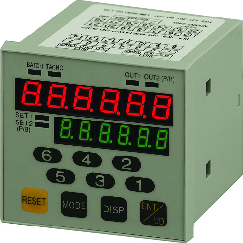 ライン精機 通信機能付 プリセットカウンタ E21-201