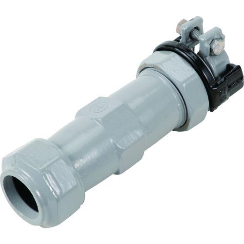 SKカワニシ 鉛管2種×ポリエチレン管用異種継手 SKX鉛管用異種ソケット P50×L50 SKX-S-P50XL50