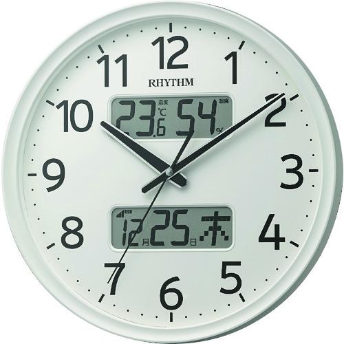 RHYTHM リズム 電波掛時計 8FYA03SR03