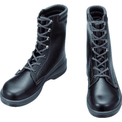 シモン 安全靴 長編上靴 7533黒 25.0cm 7533N-25.0