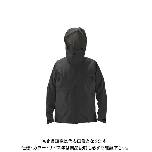 【COOL NAVI 2020】TRUSCO ゴアテックスワークレインウェア ブラック S GXPW-S-BK