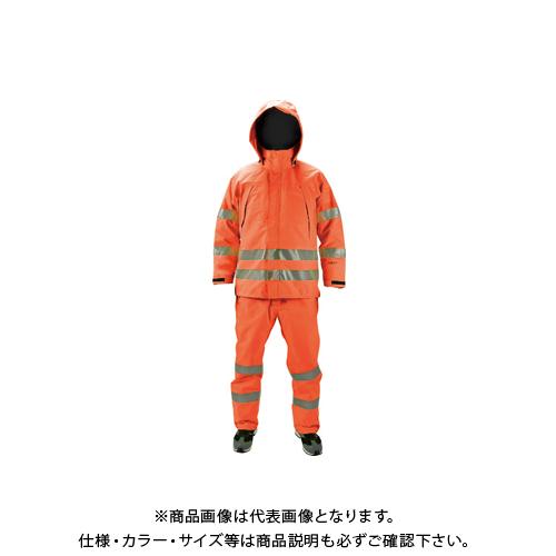 【COOL NAVI 2020】TRUSCO ゴアテックス高視認制電レインパンツ オレンジ S GXHP-S-OR