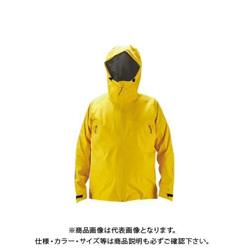 【COOL NAVI 2020】TRUSCO ゴアテックスワークレインウェア イエロー 3L GXPW-3L-Y