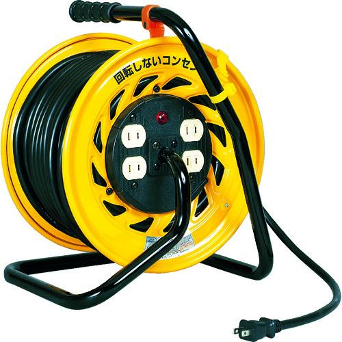 日動 電工ドラム マジックリール 100V 2芯 30m Z-304D
