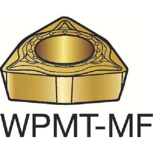 サンドビック コロターン111 旋削用ポジ・チップ 2015 10個 WPMT 02 01 04-MF:2015
