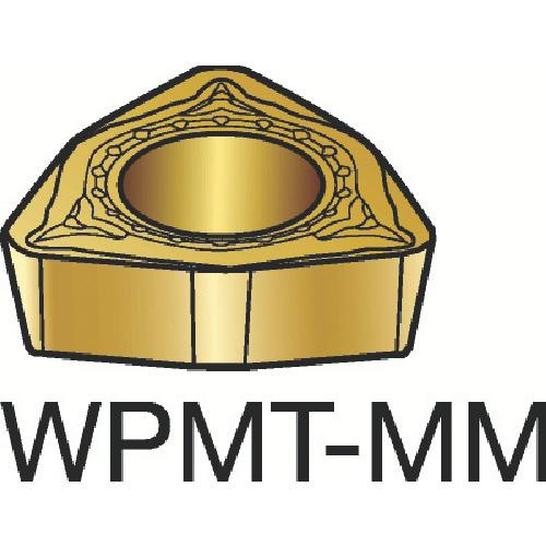 サンドビック コロターン111 旋削用ポジ・チップ 2025 10個 WPMT 04 02 04-MM:2025