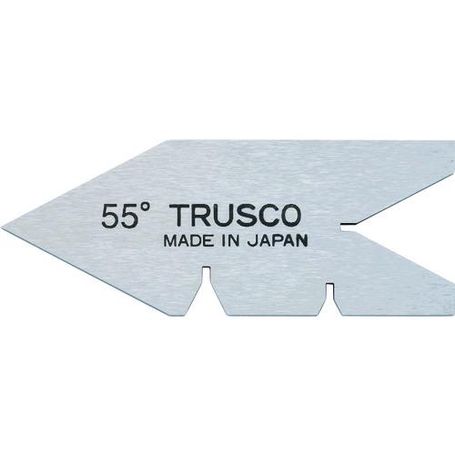 TRUSCO 推奨 センターゲージ 焼入� 高�素� 測定範囲55° 55-Y