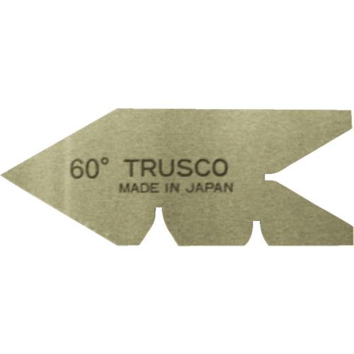 TRUSCO センターゲージ 焼入� 測定範囲60° 正��証� 大幅�プライスダウン 新�格 60-Y
