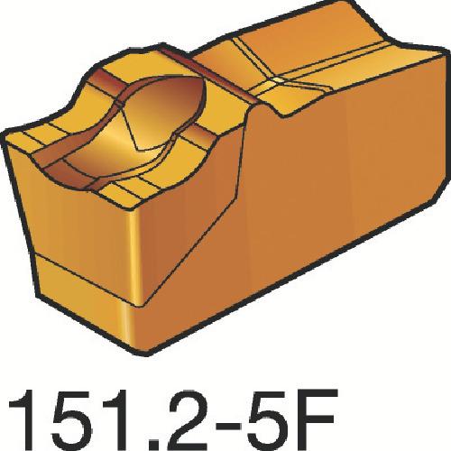 サンドビック T-Max Q-カット 突切り・溝入れチップ 2135 10個 R151.2-200 05-5F:2135